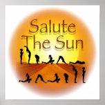 Salude el poster de Sun