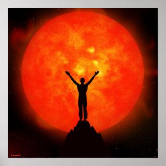 Saludo a The Sun Póster