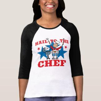 Saludo al cocinero del Bbq Camiseta