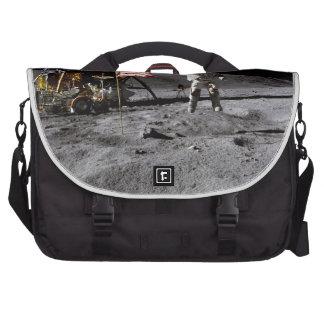 Saludo de Apolo 16 Bolsas De Ordenador