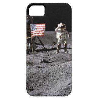 Saludo de Apolo 16 iPhone 5 Fundas