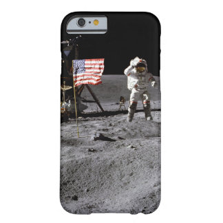 Saludo de Apolo 16 Funda Para iPhone 6 Barely There