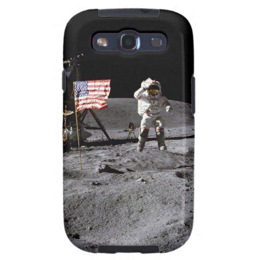 Saludo de Apolo 16 Galaxy S3 Cobertura