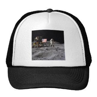 Saludo de Apolo 16 Gorros Bordados