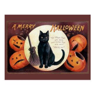 Saludo de Halloween de Ellen Clapsaddle Tarjetas Postales