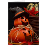 saludo de Halloween Tarjeta