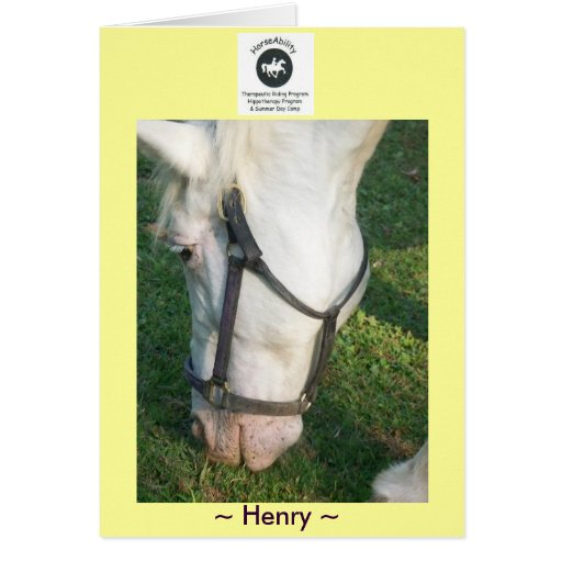Saludo de Henry… Tarjetón