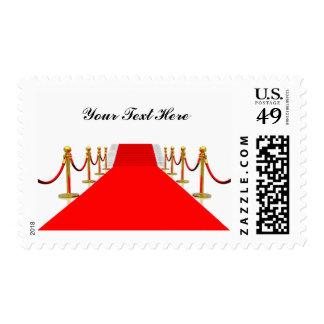 Saludo de la alfombra roja - personalizable sellos