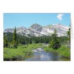Saludo de la belleza de la montaña de Colorado Felicitación
