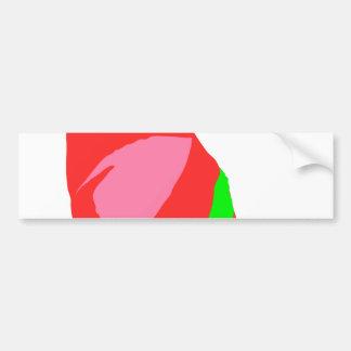 Saludo de la estación del otoño del festivo viejo etiqueta de parachoque
