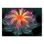 Saludo de la flor (espacio en blanco dentro) felicitaciones
