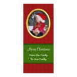 Saludo de la foto de las Felices Navidad Invitaciones Personales