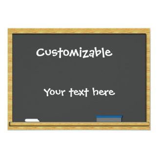 Saludo de la pizarra - personalizable comunicados