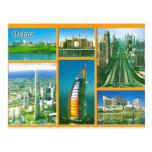 Saludo de la postal de Dubai