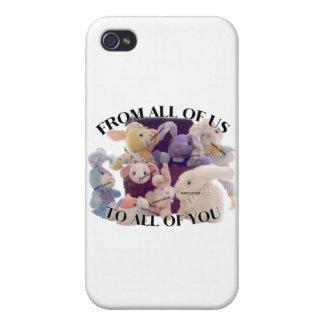 Saludo de Pascua iPhone 4 Fundas
