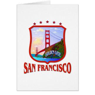 Saludo de San Francisco Tarjeta Pequeña