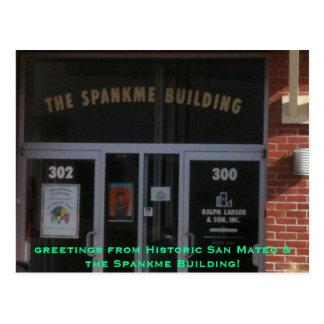 Saludo de San Mateo histórico Tarjetas Postales
