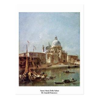 Saludo de Santa María Della de Guardi Francisco Tarjetas Postales