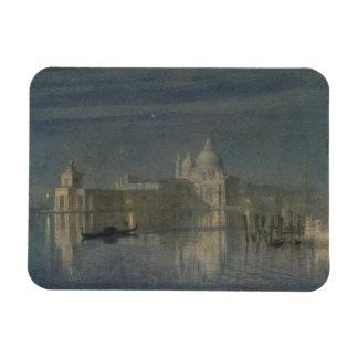 Saludo de Santa María Della, Venecia, claro de lun Imán Flexible