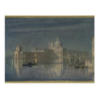 Saludo de Santa María Della, Venecia, claro de lun Tarjeta Postal