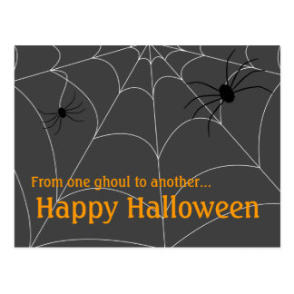 Saludo de Spiderweb Tarjetas Postales