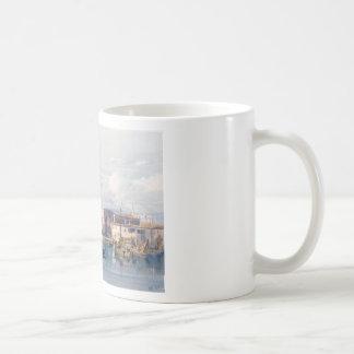 Saludo del della de Santa María, Venecia de Taza Básica Blanca