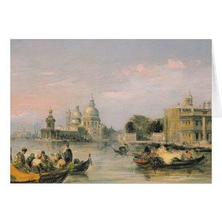 Saludo del della de Santa María, Venecia, siglo XI Felicitacion