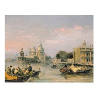 Saludo del della de Santa María, Venecia, siglo XI Tarjeta Postal