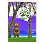 Saludo del Día de la Tierra Tarjeta De Felicitación