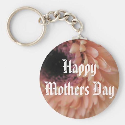 Saludo del día de madres llavero