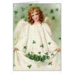 Saludo del día de St Patrick del vintage Felicitación
