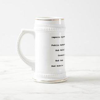 Saludo del mundo de Visual Basic hola Tazas De Café