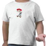 Saludo derecho de la vaquera de Toy Story Jesse Camisetas