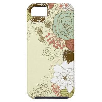 Saludo floral iPhone 5 carcasa