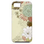 Saludo floral iPhone 5 cárcasas
