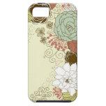 Saludo floral iPhone 5 Case-Mate carcasa