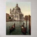 Saludo I, Venecia, Italia del della de Santa María Poster