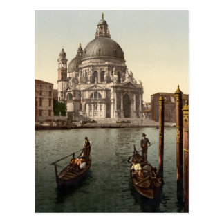 Saludo I, Venecia, Italia del della de Santa María Postal