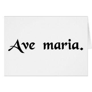 Saludo Maria Felicitacion