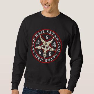 Saludo oculto Satan Baphomet en Pentagram Suéter