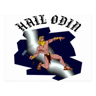 Saludo Odin del Thor Postales