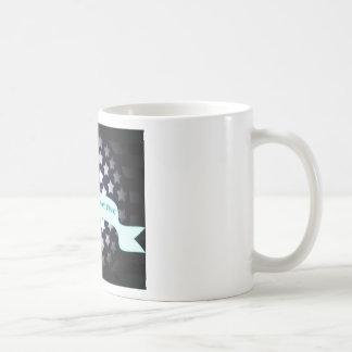 Saludo patriótico del cumpleaños tazas de café