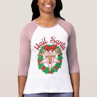Saludo Santa Camisetas