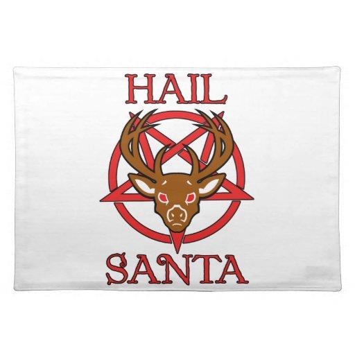 Saludo Santa Mantel Individual