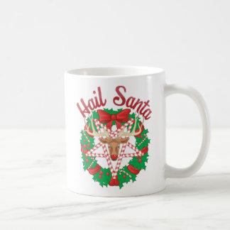 Saludo Santa Taza De Café