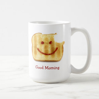 Saludo Toasty de la buena mañana Taza