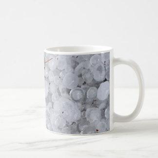 Saludo y ruina de mármol tazas de café