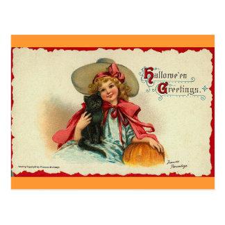 Saludos 2 de Halloween Postales