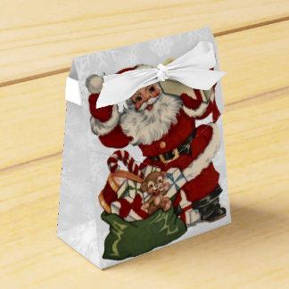Saludos 2 del navidad caja para regalos