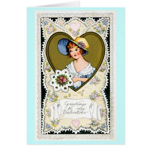 Saludos a mi tarjeta del día de San Valentín
